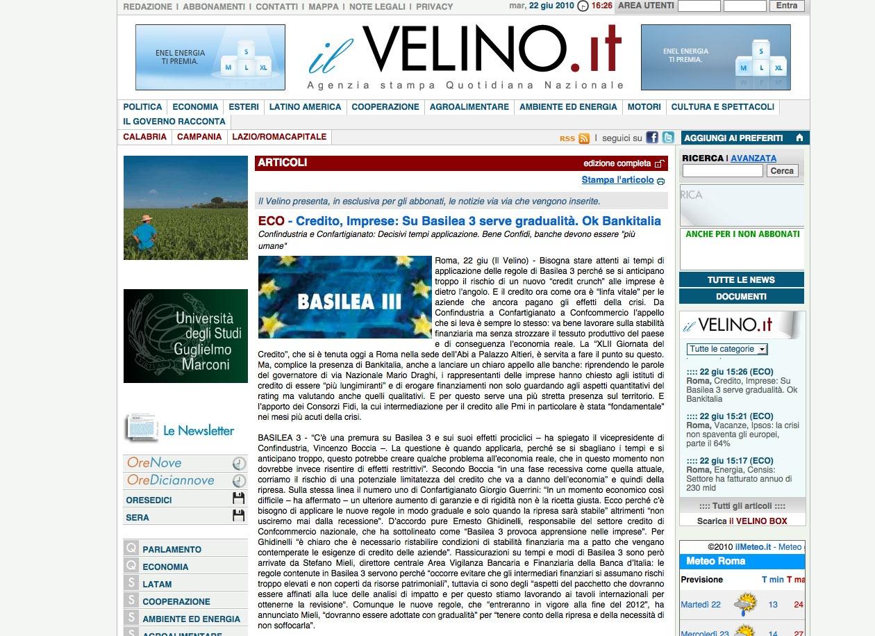 il Velino.it